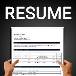 Free resume builder CV maker templates PDF formats
