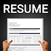 Resume Builder CV Template PDF Format Freshers Exp icon