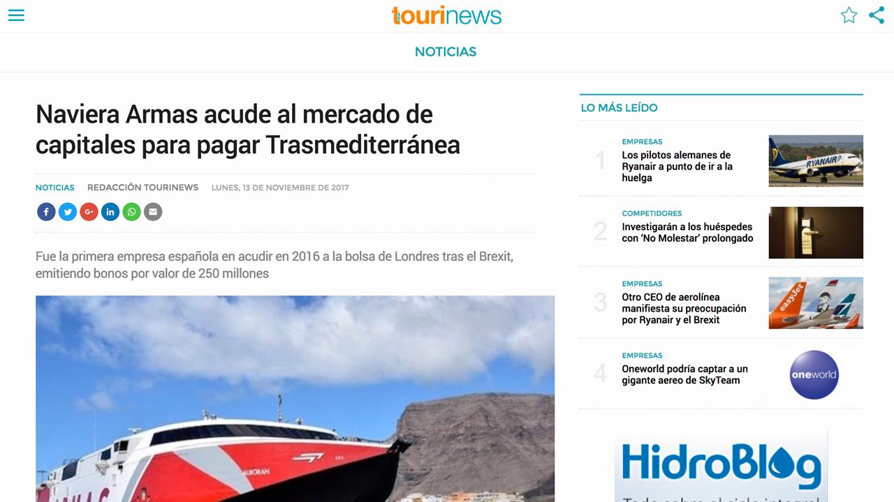 Tourinews- screenshot