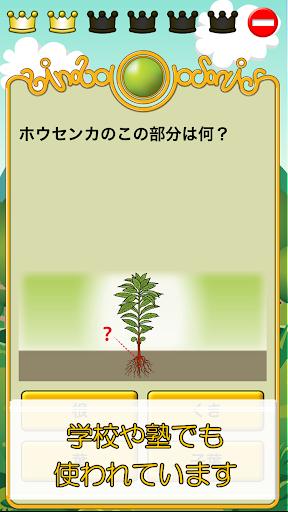 無料教育Appのビノバ 理科-小学生,3年生- 植物や昆虫をドリルで暗記|記事Game
