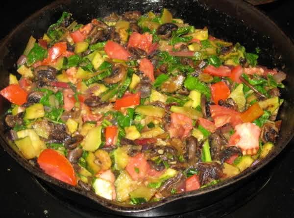 Summer Zucchini Saute