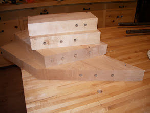 Photo: Dowels added for alignment and strength.