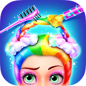 Rainbow Hair Salon - Dress Up