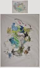 """Photo: Joanna Dobranowska """"W zielonym lesie..."""" komplet pościeli malowanie na tkaninie"""