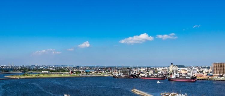 木更津から見た風景