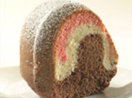 NEAPOLITAN POUND CAKE Recipe