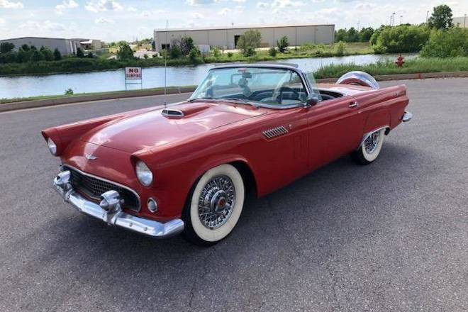 1956 Ford Thunderbird Hire Oklahoma City