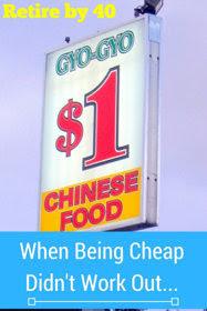 When Being Cheap Didn't Work Out… thumbnail