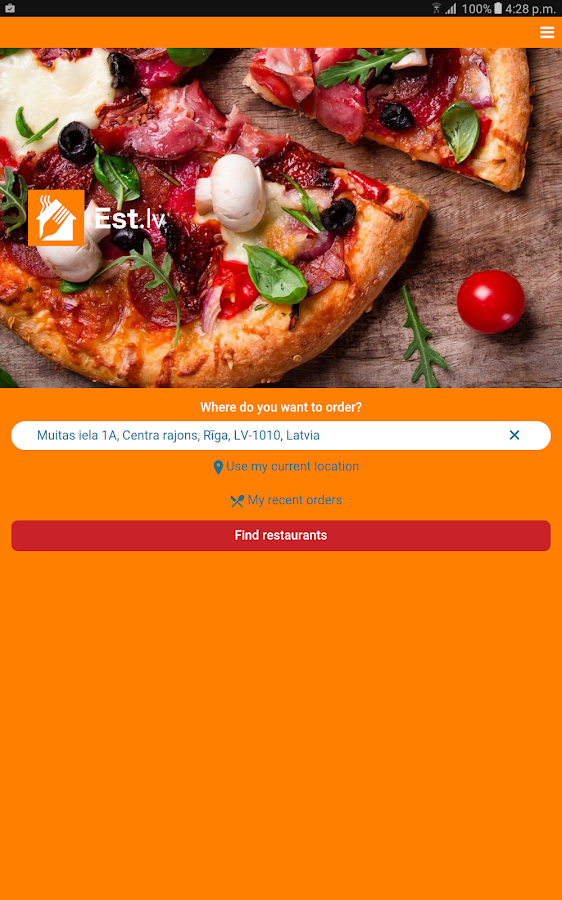 Est - est.lv Food delivery- screenshot