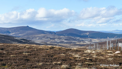 Photo: Clachnaben and Mount Shade from Cairn O'Mount