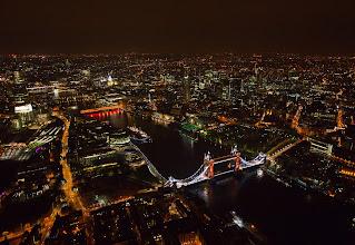 Photo: Tower Bridge with GE Lighting's 90W LED Floodlights.
