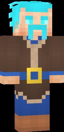Ice Wizard Clash Royale Nova Skin