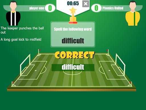 Football Word Cup - The Football Spelling Game 2.0 screenshots 3