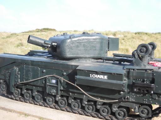 1Charlie-tank.jpg - An Allied tank, inscribed 1Charlie.