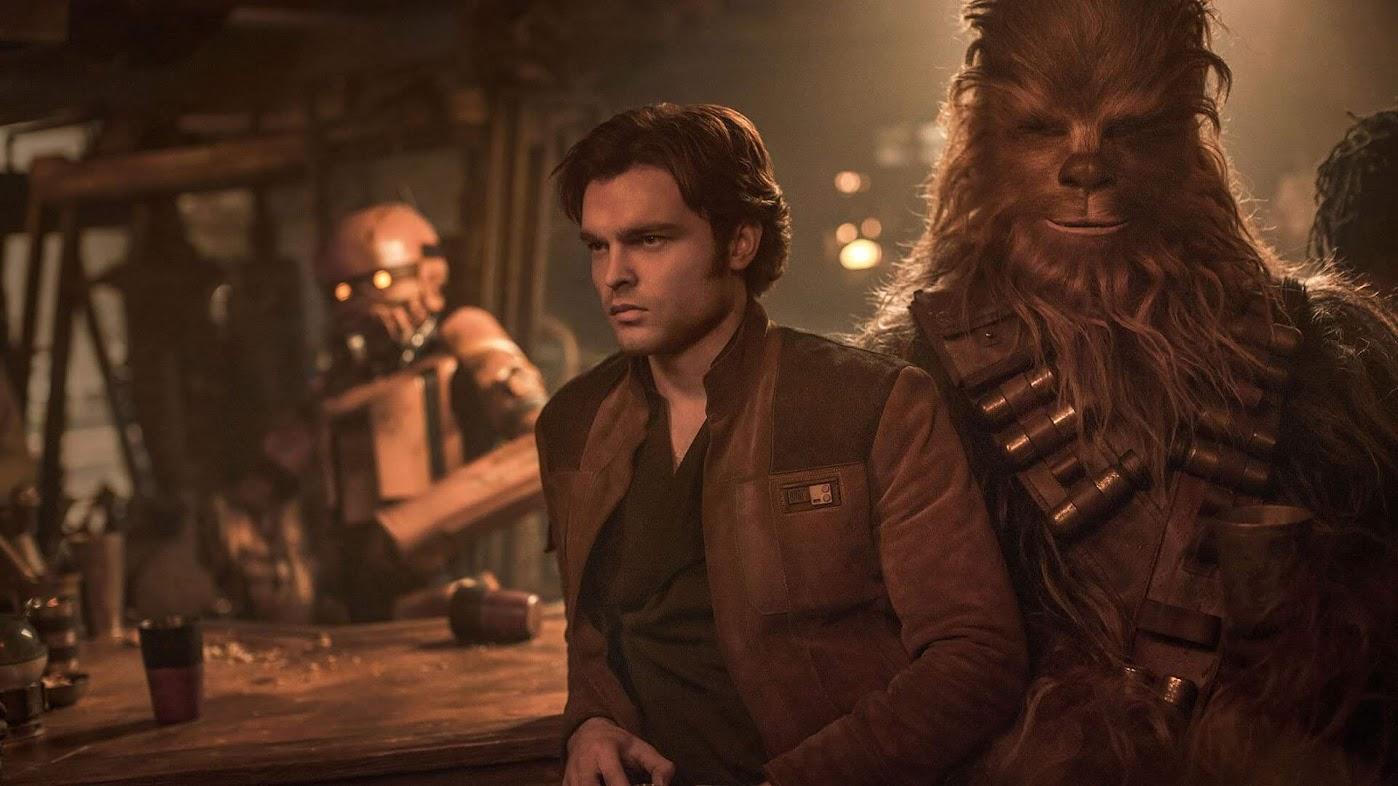 Han Solo - Gwiezdne Wojny - Historie - Han i Chewie w barze