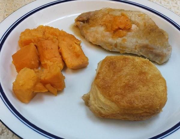 Southern Maple Pork Chop Dinner Recipe