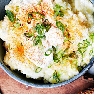 Sour Cream Mashed Potatoes with Paprika