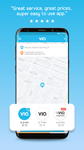 Via - Affordable Ride-sharing- screenshot thumbnail