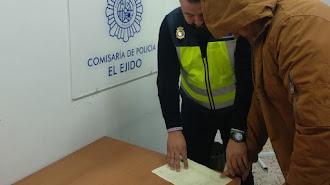 El detenido por el asesinato de un varón en Adra en el año 2015.