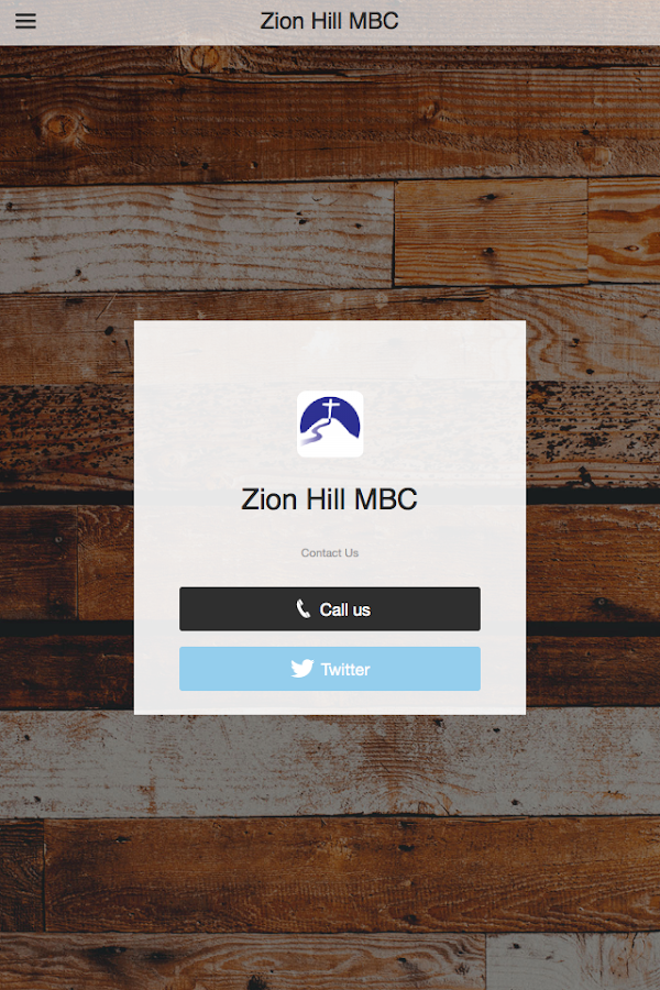 Zion Hill MBC- screenshot