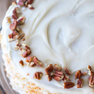 Carrot Spice Cake.