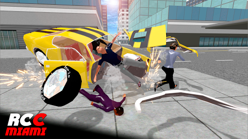 Real Car Crash Miami