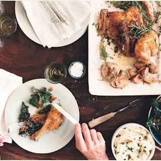 Roast Chicken with Rosemary-Garlic Paste
