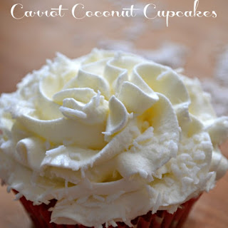 Carrot and Coconut Cupcakes
