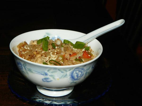 Benihana's Chicken Fried Rice Recipe