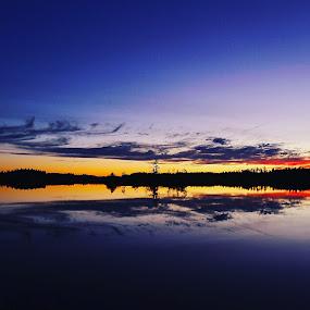 Sandsjön by Christian Wilen - Landscapes Sunsets & Sunrises ( cirre1,  )