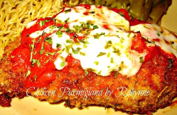 Chicken Parmigiana~robynne Recipe