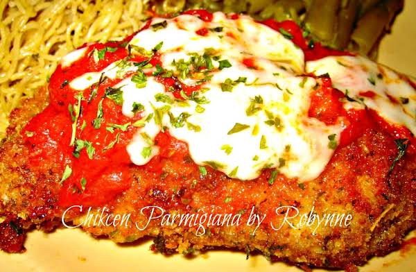Chicken Parmigiana~robynne Recipe
