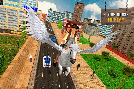 Flying Horse Taxi City Transport: Horse Games 2020 2.2 screenshots 6