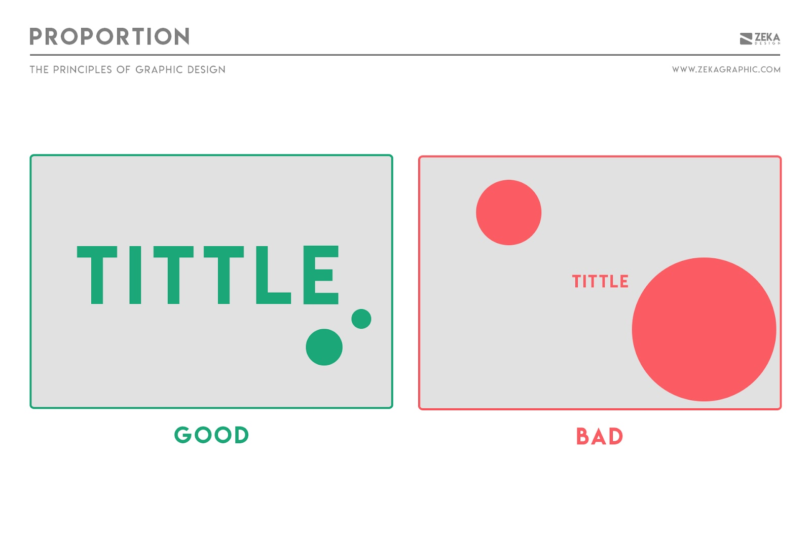 Nguyên tắc Tỷ lệ trong Thiết kế Đồ họa