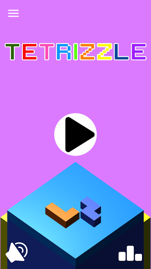 Bricks Blocks Tetrizzle puzzle- screenshot