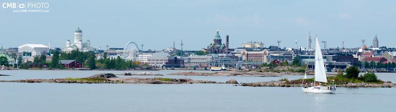 Photo: Desde las islas de Suomenlinna se aprecia una bella panorámica de Helsinki