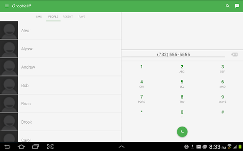 GrooVe IP VoIP Calls & Text- screenshot thumbnail