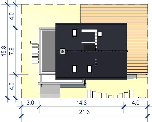 Domidea 58 mG - Sytuacja