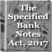 India - The Specified Bank Notes Act, 2017