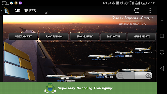Fly European! App- screenshot thumbnail