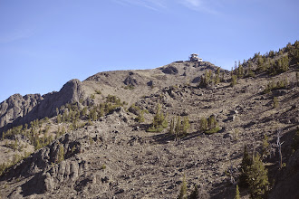 Photo: Tower at the top of Mt. Washburn