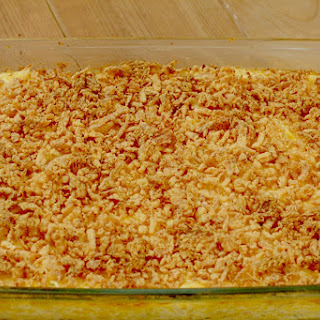 Cheesy Hashbrown Casserole.