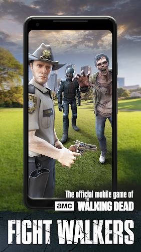 The Walking Dead: Our World Android App Screenshot