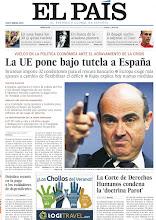 Photo: La UE pone bajo tutela a España, la Corte de Derechos Humanos condena la 'doctrina Parot', drástico recorte en la paga a los cuidadores dependientes y el dopaje vuelve a salpicar el Tour, entre los temas de nuestra portada de este miércoles 11 de julio de 2012. http://srv00.epimg.net/pdf/elpais/1aPagina/2012/07/ep-20120711.pdf