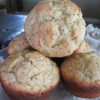 Semi-Homeade Lemon Ricotta Chia Muffins