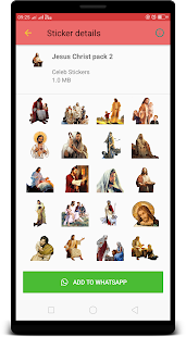 Jesus Christ WAStickerApps : Stickers for Whatsapp Screenshot