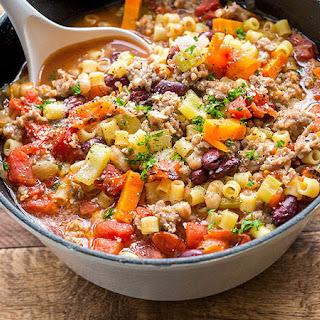 Copycat Olive Garden™ Pasta E Fagioli Recipe