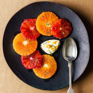 Oranges With Vermouth And Thyme.