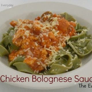 Everyday Meals - Chicken Bolognese Sauce ...The Easy Way!!