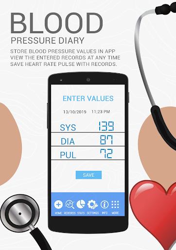 Blood Pressure BP History : Analyze Average Diary  screenshots 1